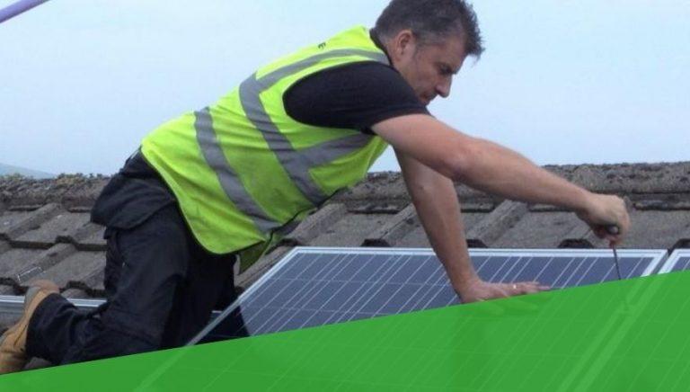 Residential Solar Panel Mounting Uk