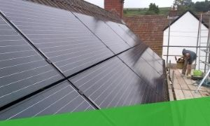 Pitched Roof Solar Mounting System. Solar Roof Pro UK
