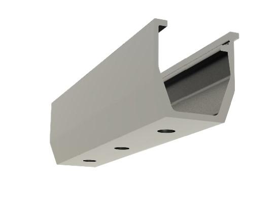 Clenergy U-Support bracket for Trapezoidal sheets
