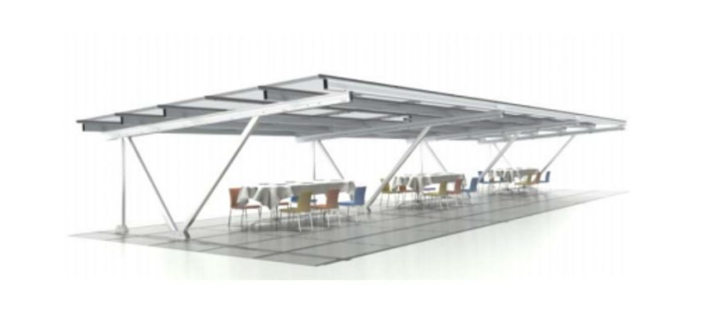 EZ Shade Commercial Structure