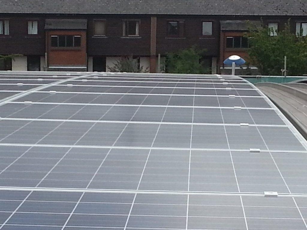 Klip Lok Universal Standing Seam Solar Project UK