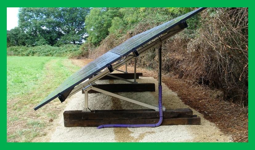 ezRack-SolarTerrace-III-A-utility ground mounting, England UK