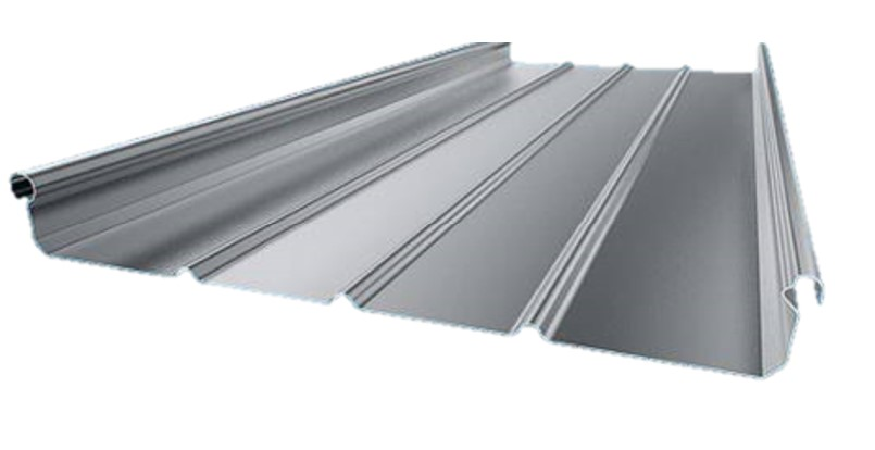 Zinc standing seam roofs