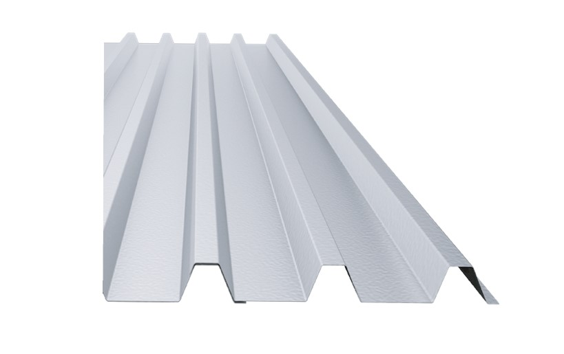 trapeziodal roof for solar mountings